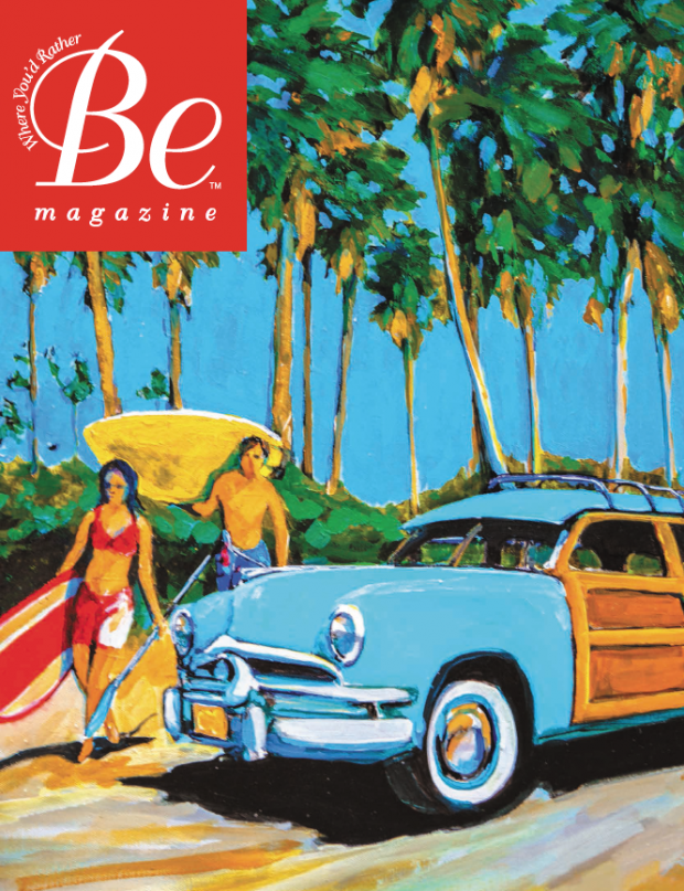 Newman-Dailey Be Magazine Published by The Idea Boutique Gordie Hinds