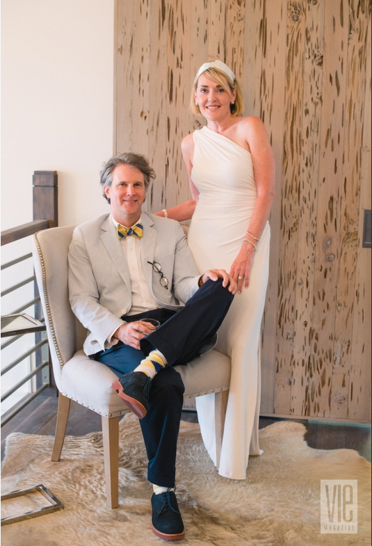 The Idea Boutique's co-founder and founder Gerald Burwell and Lisa Burwell