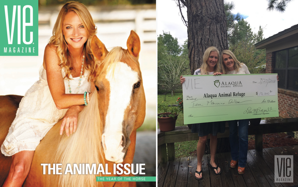 VIE Magazine Animal Issue with Alaqua Founder Laurie Hood
