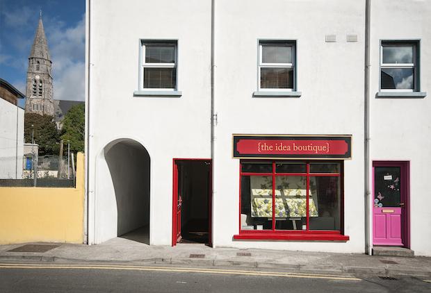 Inside The Idea Boutique Ireland Office in Clifton Connemara Ireland