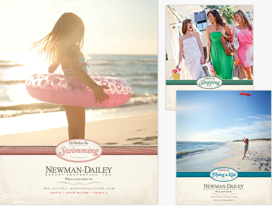 Newman Daily I'd Rather Be Ad Campaign