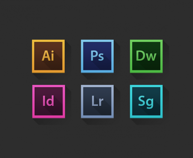 Adobe Suites Design Icons