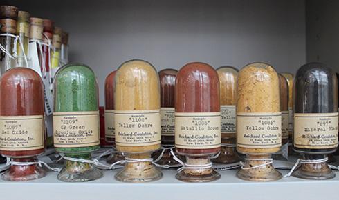 Edward Forbes Color Pigment