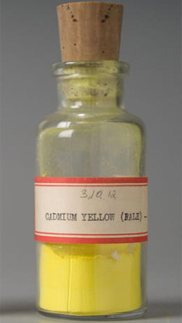 Cadmium yellow Edward Forbes Color Pigment