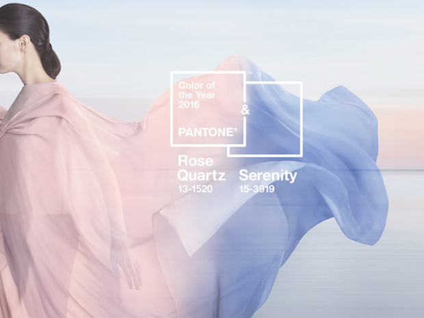 Pantone Colors of the Year 2016 Rose Quartz and Serenity