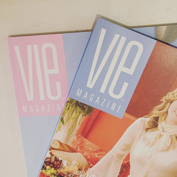 Rose Quartz and Serenity Pantone Color VIE Magazine
