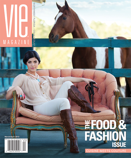 VIE Magazine March April 2013 Food and Fashion Issue