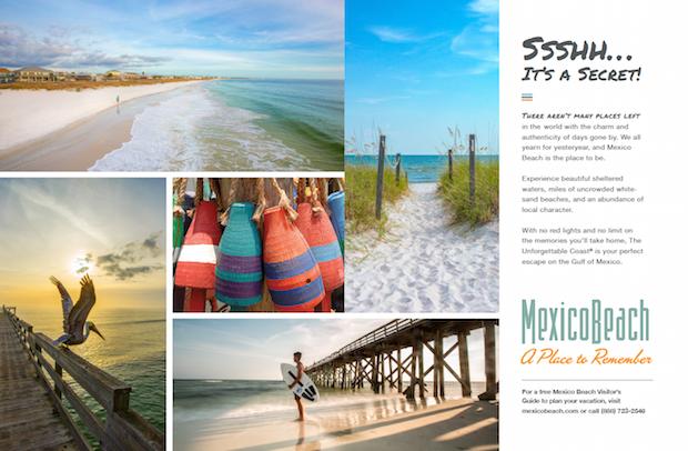 Mexico Beach Florida ad