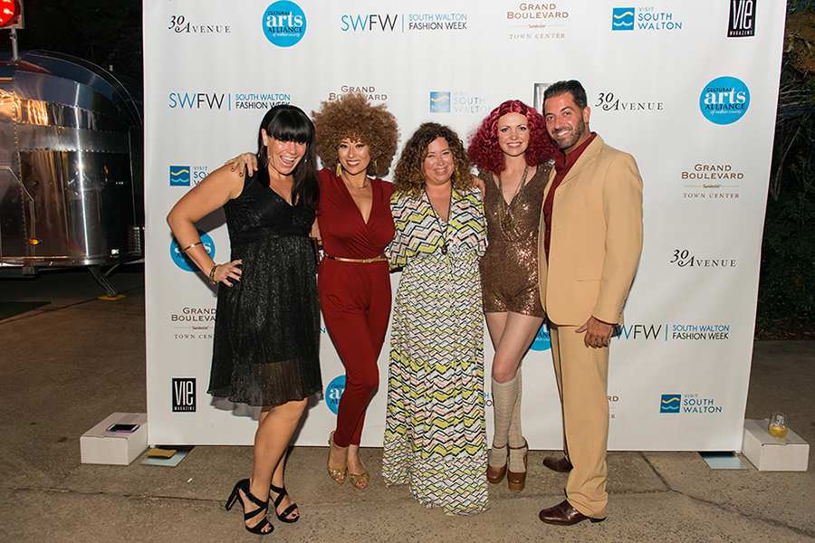 Guests arrive at VIE Magazine's SWFW The Get Down 2016