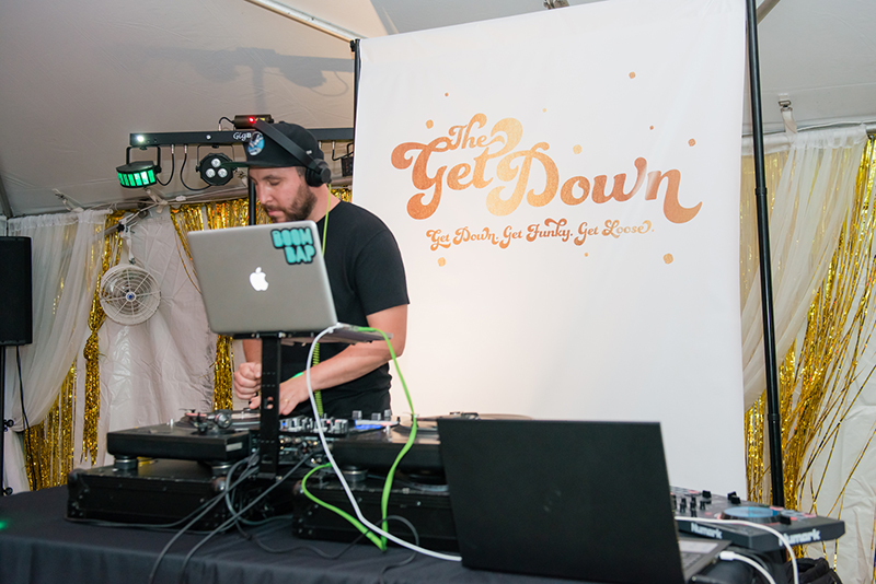 The Boom Bap Live DJ Rate at VIE Magazine's SWFW The Get Down 2015