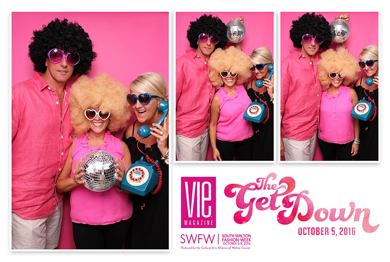 Guests enjoying Epic Photo Booth at The Get Down 2016