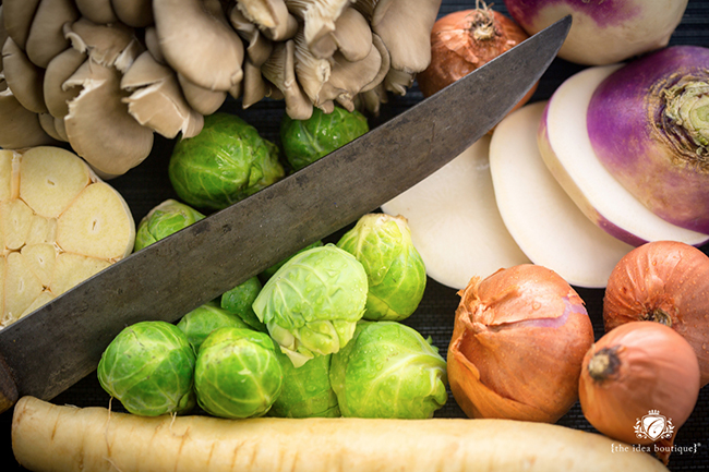 Fresh vegetables at Firefly Panama City Beach; Photo by Romona Robbins