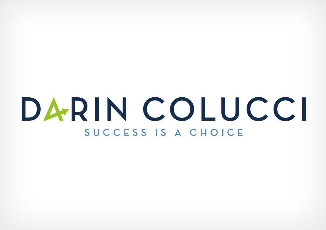 Darin Colucci logo redesign