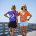 Local Flavor and Mermaid shirt design Women on a pier Panama City Beach