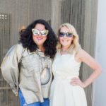 Ashley Longshore and VIE Editor in Chief Lisa Burwell Christian Siriano Trunk Show