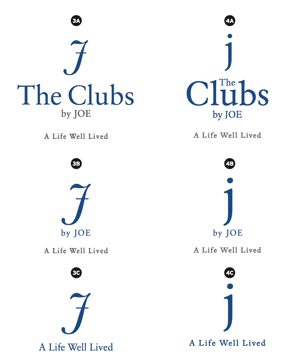The Idea Boutique explored many options through the design process for St JOE's new logo