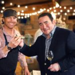 Emeril Lagasse and Phil McDonald at VIE Magazine Farm to Table at Arnett's Gulfside Stables