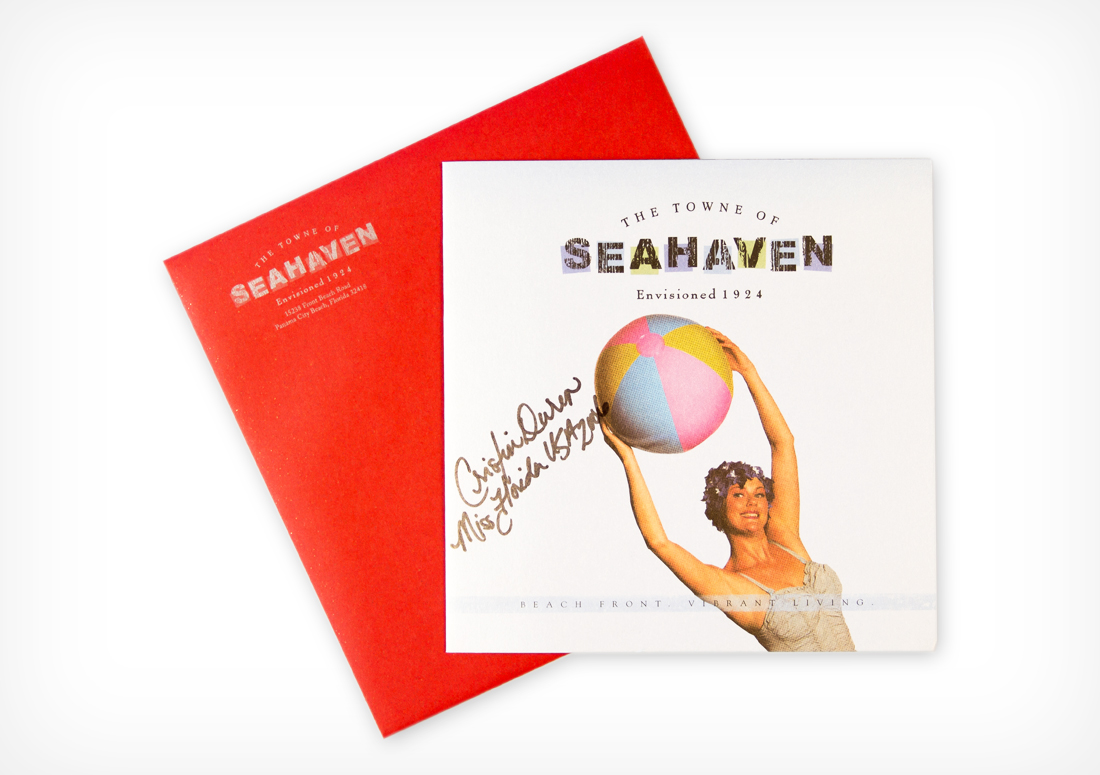The Towne of Seahaven Opening Invitation