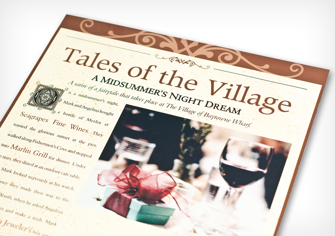 The Village of Baytowne Wharf Taste of the Village Collateral