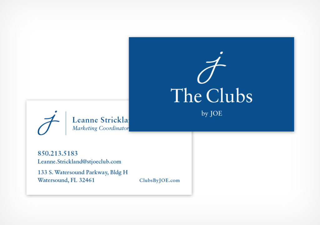 The Clubs by JOE Business Card