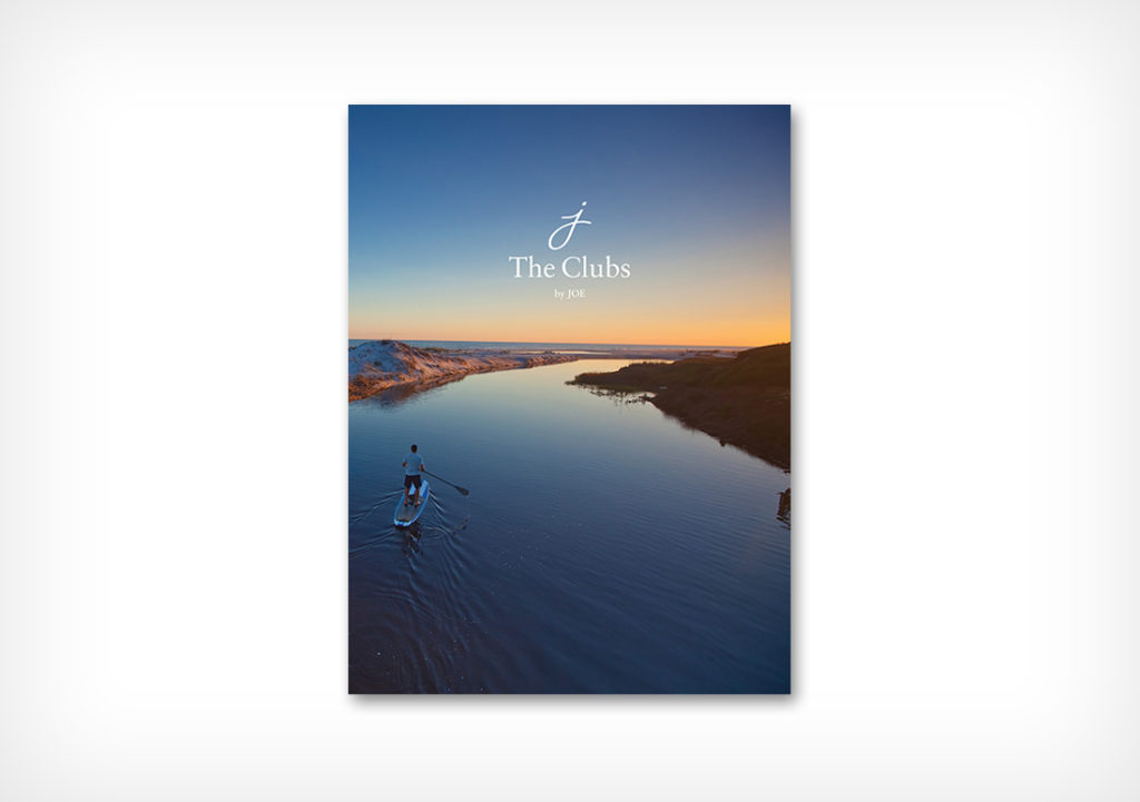 The Clubs by JOE membership booklet