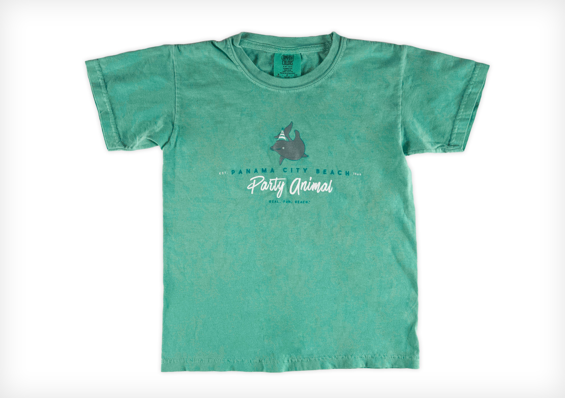 Panama City Beach CVB t-shirts, Party Animal