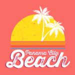 Panama City Beach CVB T-shirt design, The Retro Collection
