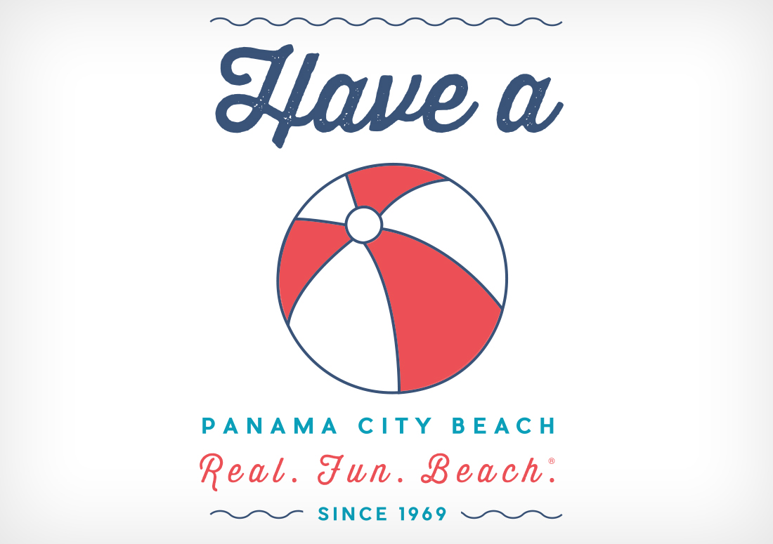 Have a ball tshirt design panama city beach