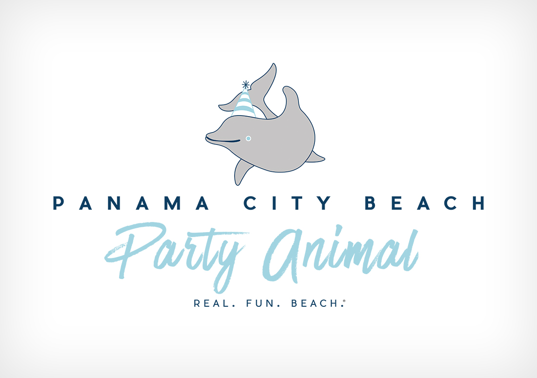 party animal tshirt design Panama City Beach branding 2016
