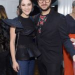 Isabelle Fuhrman and Brad Walsh attend the opening of Christian Siriano's new store, The Curated, hosted by Alicia Silverstone and sponsored by VIE Magazine on April 17, 2018, in New York City.