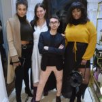 Precious Lee, Georgia Pratt, Christian Siriano, and Marquita Pring attend the opening of Christian Siriano's new store, The Curated, hosted by Alicia Silverstone and sponsored by VIE Magazine on April 17, 2018, in New York City.