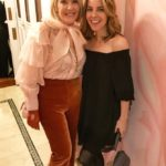 The Idea Boutique's owner/founder Lisa Burwell and musical artist Morgan James, attend the opening of Christian Siriano's new store, The Curated, hosted by Alicia Silverstone and sponsored by VIE Magazine on April 17, 2018, in New York City