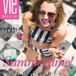 Cayce Collins Swimwear Cover May/June 2016 Summertime Issue