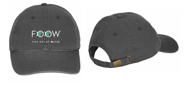 FOOW hat design by The Idea Boutique