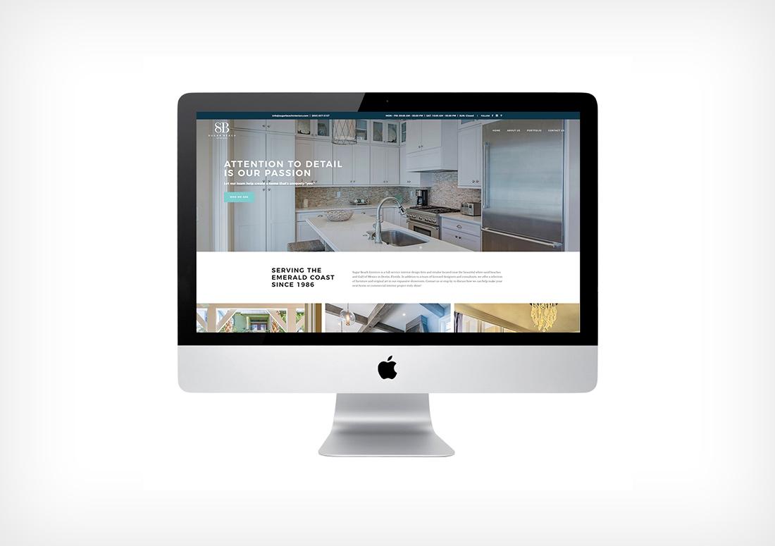 Sugar Beach Interiors website