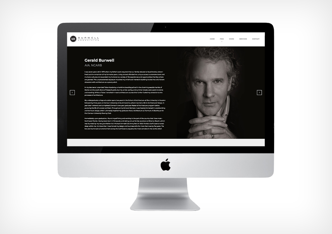 Burwell Associates website