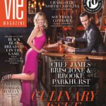 VIE Magazine April 2018; James Briscione and Brooke Parkhurst