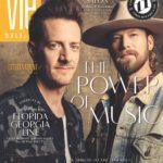 VIE Magazine March 2019; Tyler Hubbard and Brian Kelley