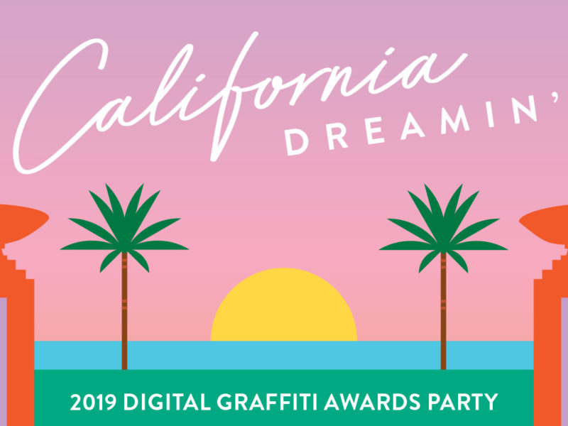 Digital Graffiti 2019, Alys Beach Florida, VIE + DG 2019 Pre-Party: California Dreamin' Branding