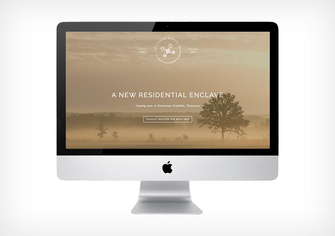 Splendor Ridge | Franklin, TN Branding