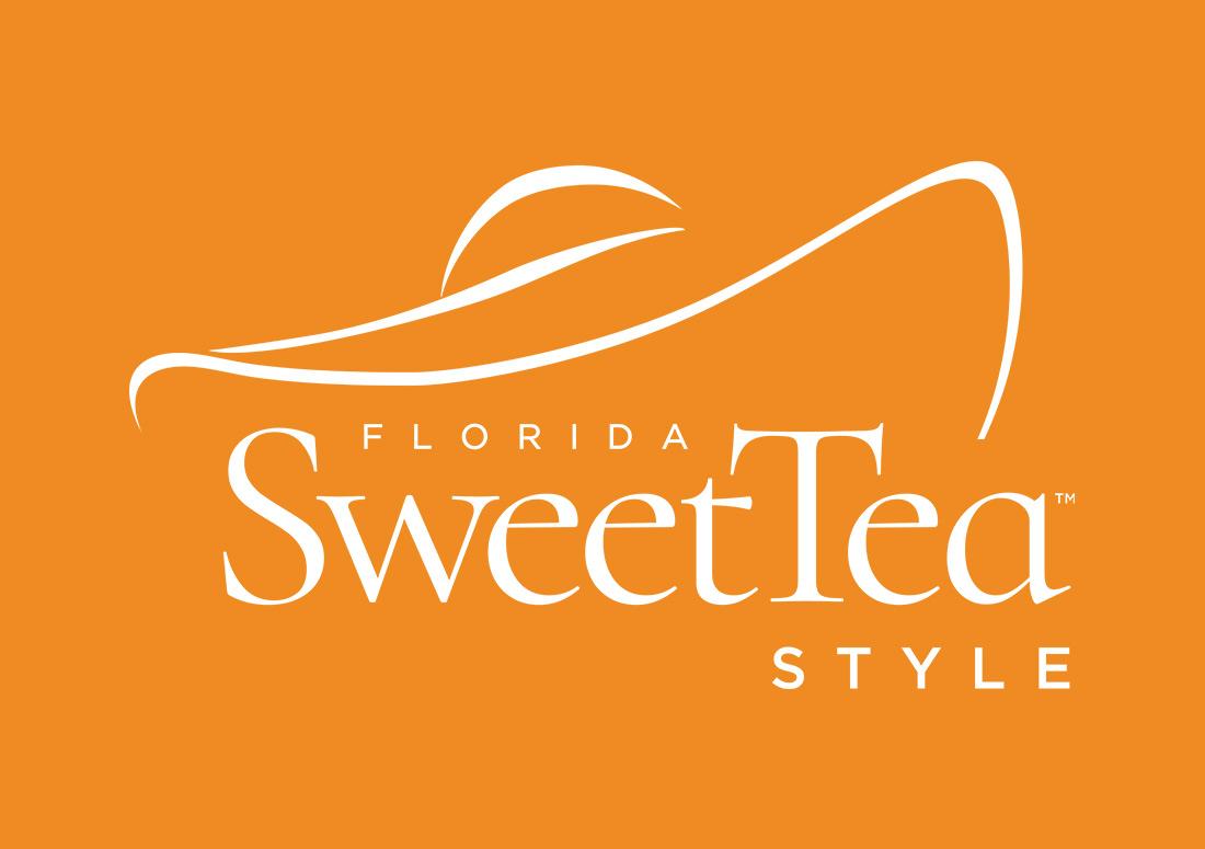 Florida SweetTea Style in Watercolor Florida Branding
