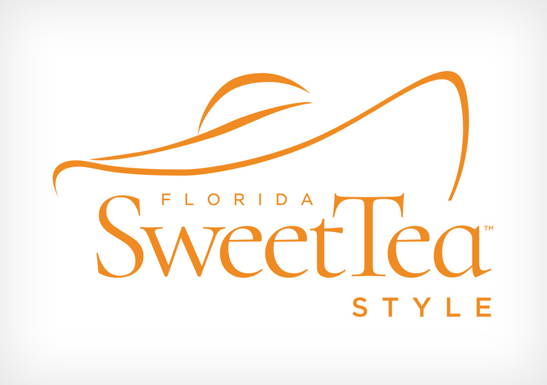 Florida SweetTea Style in Watercolor Florida branding