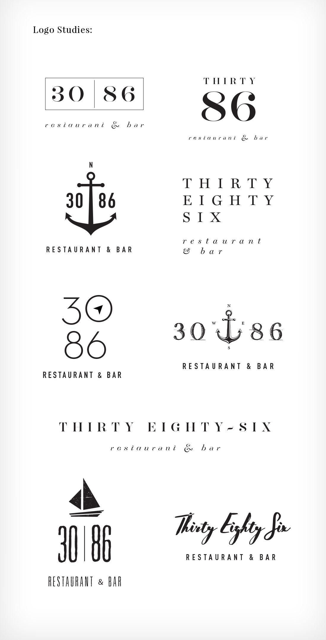 30 86 logo options