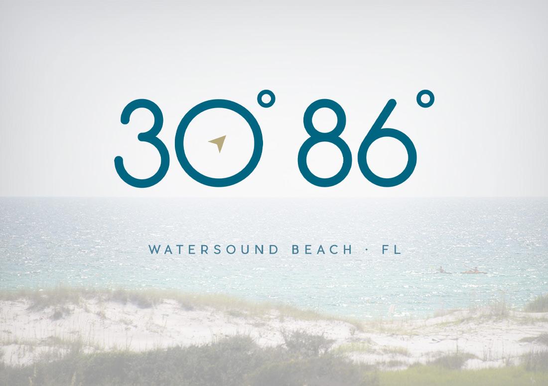 30 86 logo design
