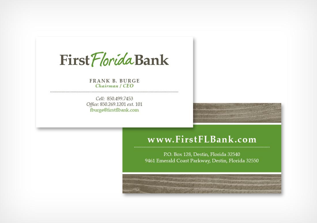First Florida Bank Branding
