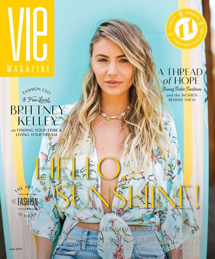 VIE Magazine, The Idea Boutique, Tribe Kelley, Tribe Kelley Surf Post, Brittney Kelley