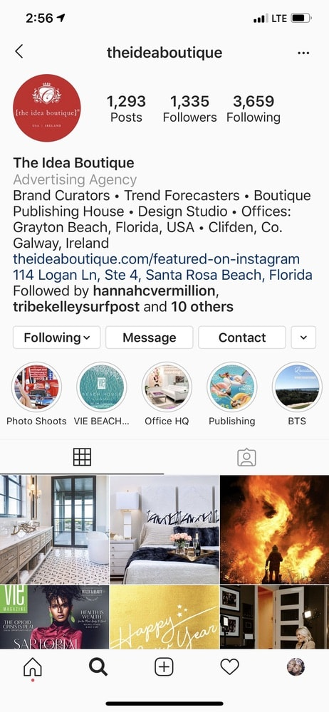 The Idea Boutique, Vie Magazine, Instagram, Instagram Trends, 2020 Instagram Trends, Instagram Stories