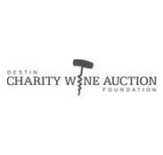 Destin Charity Wine Auction Logo
