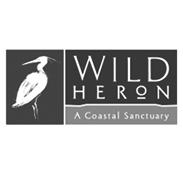 Wild Heron - A Coastal Sanctuary Logo