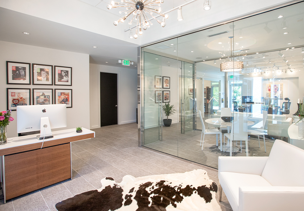 VIE® magazine's office designed by Burwell Associates, Inc